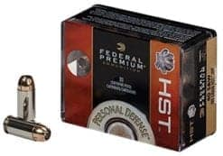 Federal Personal Defense HST 9mm Luger 124gr Jacketed Hollow Point (20)
