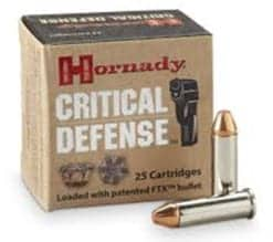 Hornady Critical Defense 38 Special +P 110 gr FTX®