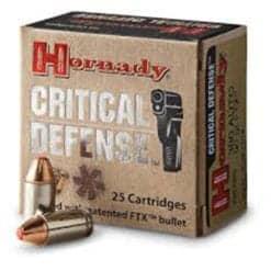 Hornady Critical Defense 380 Auto 90 gr FTX®
