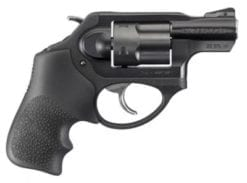Ruger LCRX .38cal. Special + P, Matte Black, Hogue Tamer Monogrip