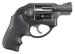 Ruger KLCR-9 9mm, Matte Black, Hogue Tamer Monogrip