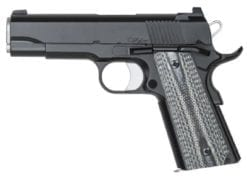 DW Valor Commander .45 ACP, Black, Tactical 2 dot tritium sights, 8rd mags