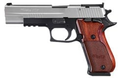 SIG SAUER P220 .45 ACP, SIN Supermatch 2 Tone, Adj. Sights, Rosewood, (2) 8rd mags -220BR5-45-TAS-SUP