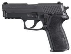 SIG SAUER P229 .357 SIG, Nitron, Siglite Night Sights E2 Grip, (2) 12rd steel mags E29R-357-BSS