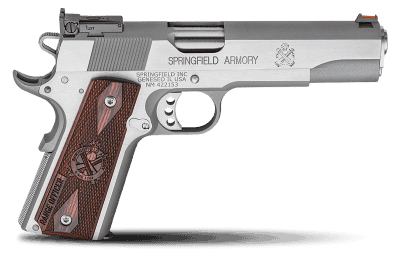 springfield armory® 1911 a1 range officer®, stainless