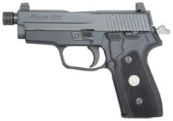 SIG SAUER P225A 9mm 4.4 in. Classic TB, Blk, Siglite Night Sights, G10 Grips, (2) 8rd  mags -225A-9-BSS-CL-TB