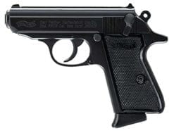 Walther PPK .380 ACP, Black (2) 6rd mags