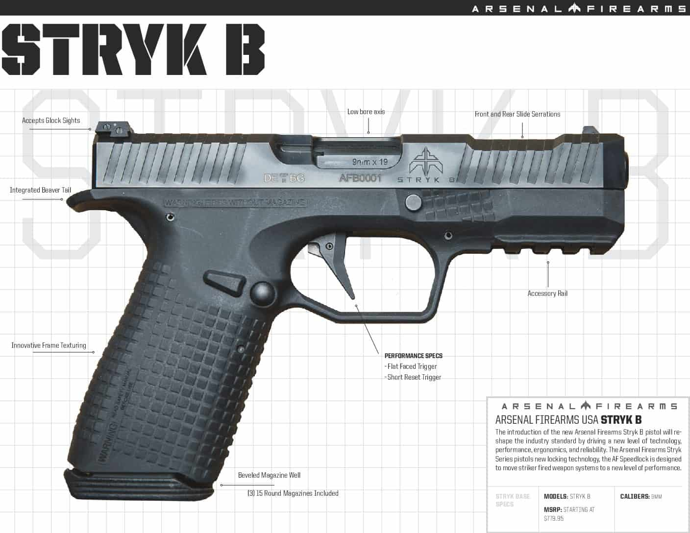Arsenal STRYK B Sizing II
