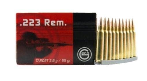 GECO Target 223 Remington 55GR - 50rd box