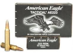 Federal Ammunition 223 REM 55GR -20rd/box
