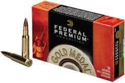 Federal Ammunition Premium Gold 308 WIN Sierra Match King BTHP 168 or 175 gr