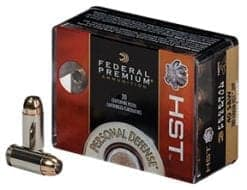 Federal Personal Defense .40cal S&W 180 Grain HST Jacketed Hollow Point (20)