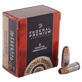 Federal Personal Defense 9mm Luger 150gr Jacketed Hollow Point (20)