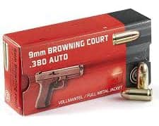 GECO .380 ACP Full Metal Jacket
