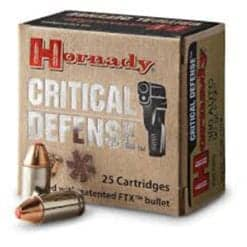 Hornady Critical Defense 380 Auto 90 gr FTX®
