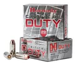 Hornady Critical Duty 10MM Auto 175 GR Flexlock 20/BX