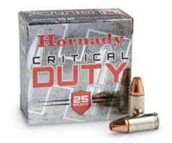 Hornady Critical Duty 9MM 135 gr FlexLock®