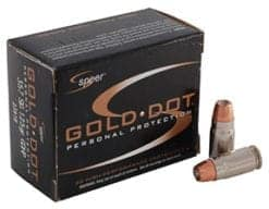 Speer Gold Dot .357cal SIG 125gr Jacketed Hollow Point (20)