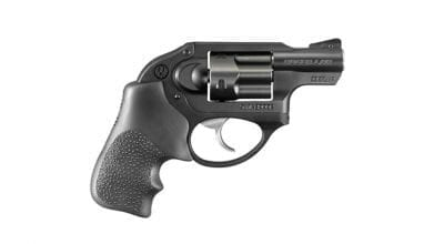 "Ruger Double Action Revolver, LCR, Matte Black, Synergistic Hard Coat, 1.875"", 38 Spl + P  5401"