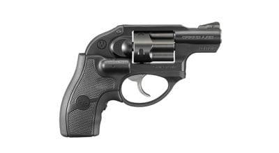 """Ruger Double Action Revolver, LCR, Matte Black, Synergistic Hard Coat, 1.875"""", 38 Spl + P  LASER Grip 5402"""