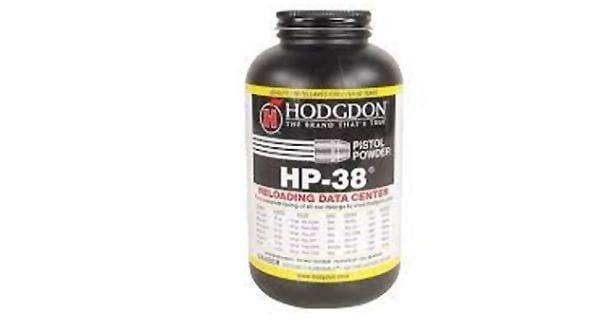 Hodgdon HP 38 Powder, 1 lb