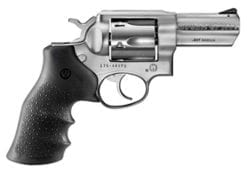 Ruger KGPF-331 .357 Magnum Satin Stainless, Hogue Monogrip