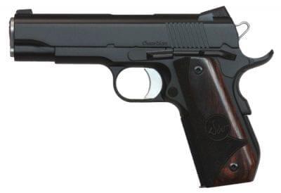 DW Guardian .45 ACP Black Alloy Bobtail Commander, 3 dot tritium sights, 8rd mags