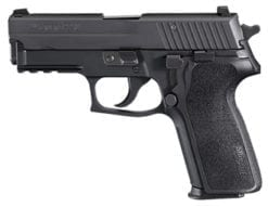 SIG SAUER P229 .357 SIG, Nitron, Siglite Night Sights E2 Grip, (2) 12rd steel mags E29R-357-BSS
