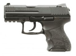 """HK P30SK LE 9mm, (V1) """"light"""" LEM DAO, Three 10rd mags, Night Sights"""
