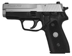 SIG SAUER P225A 9mm 3.6 in. Classic, 2-tone, Siglite, G10 Grips, (2) 8rd mags -225A-9-TSS-CL