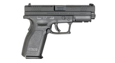 Springfield Armory® XD® Essentials Service Model 9mm Black