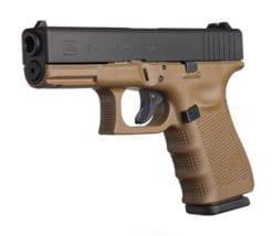 Glock 19 Gen 4 FDE frame