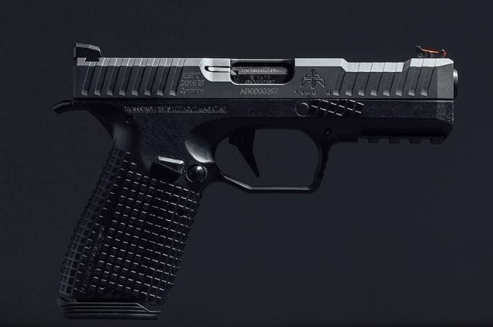 Archon Firearms Type B Pistol, 9mm, Grip Mapping Technology, (4)-15Rd,  4 29