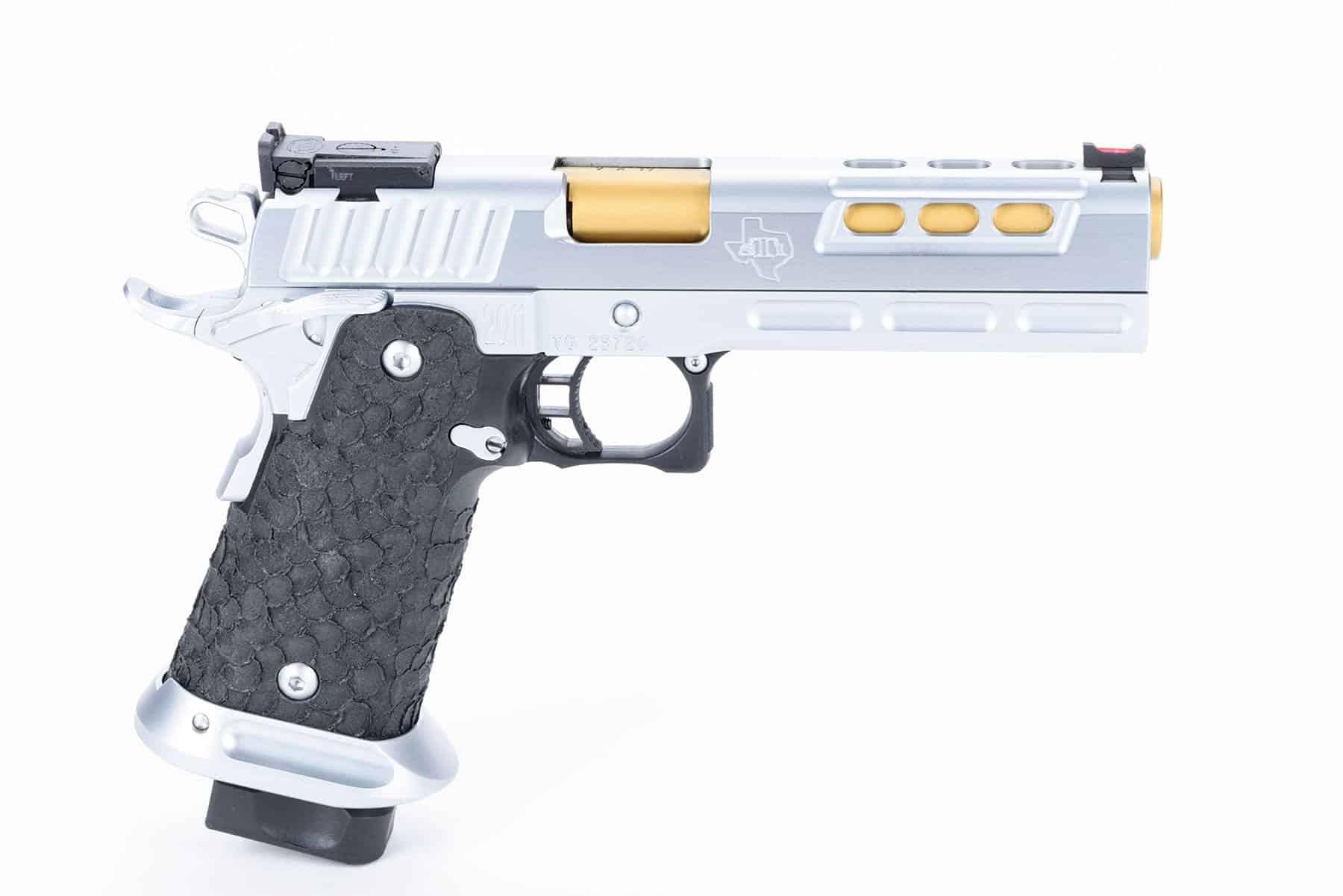 STI DVC Limited, 9mm, Hard Chrome, Steel/ Polymer Frame, Full Length ...