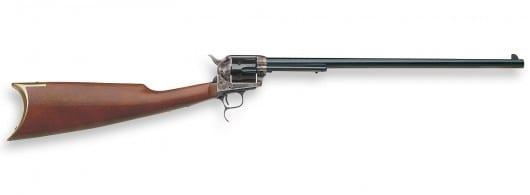 uberti 1873 cattleman revolver target carbine 45 colt color case