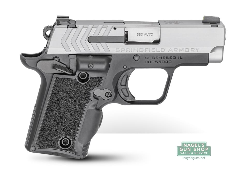 Springfield armory 911 380acp stainless slide ameriglo pro glo springfield publicscrutiny Images