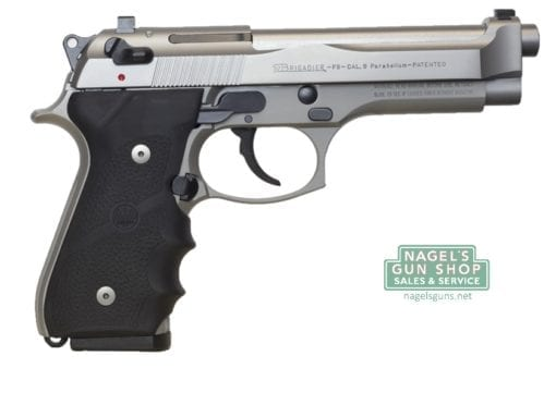 beretta 92fs brigadier inox pistol at nagels