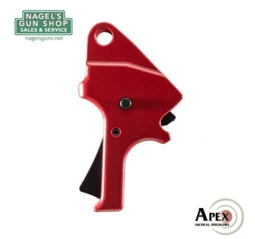 apex smith & wesson smith & wesson m&p9 m2.0 flat trigger red at nagels