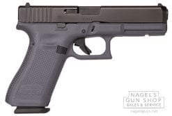 glock 17 gen5 grey frame pistol at nagels