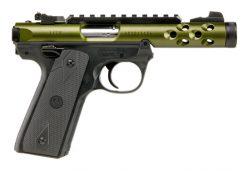 ruger mark iv 22/45 lite green 22lr pistol at nagels