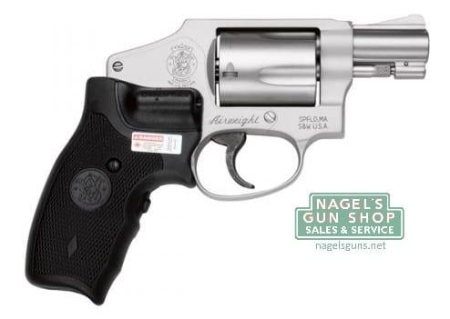 Smith & Wesson Model 642 CT Revolver,  38Spl+P, Crimson Trace Laser Grip,  5Rd, 1 7/8