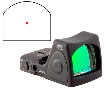 trijicon rmr type 2 rm06 at nagels