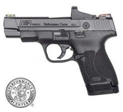 smith wesson performance center shield 9mm optic pistol at nagels