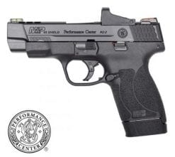 smith wesson performance center m&P45 M2.0 shield ported barrel optic pistol at nagels
