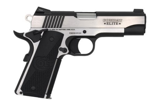 colt combat elite commander 45acp pistol at nagels