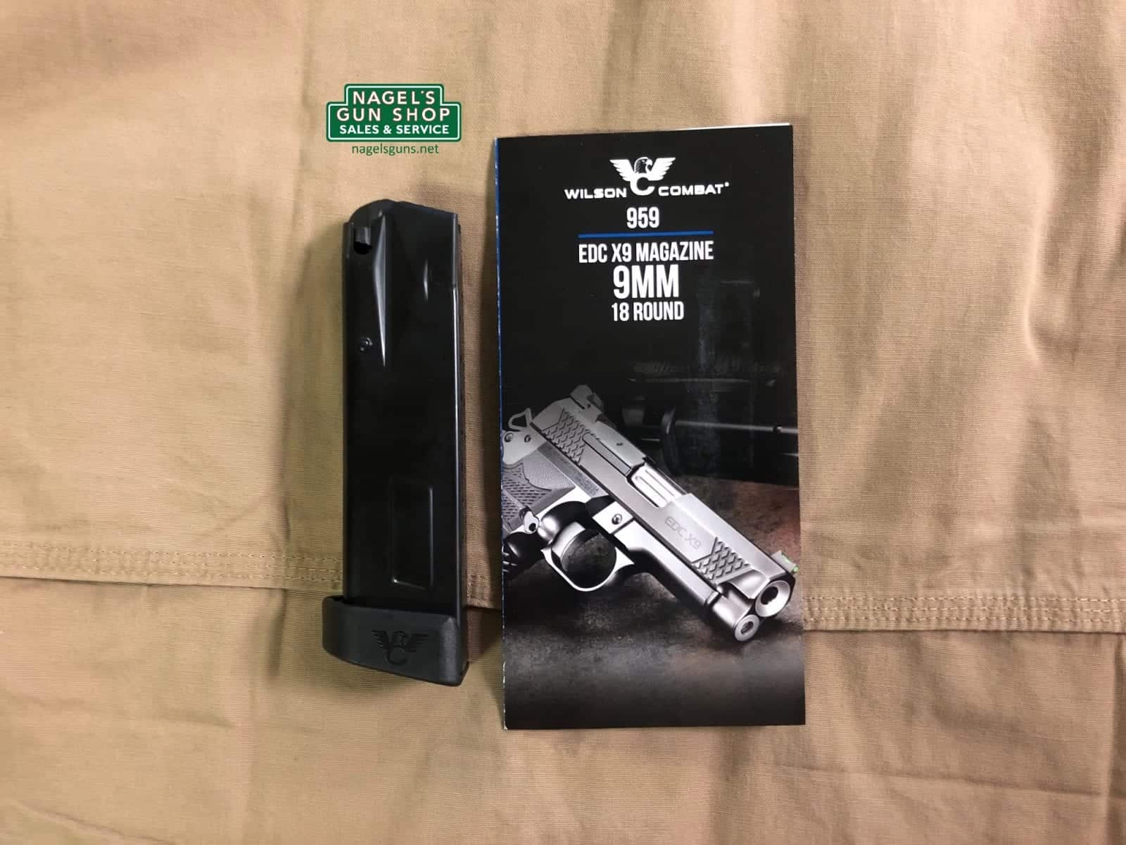 wilson combat 18rd edc x9 magazine at nagels