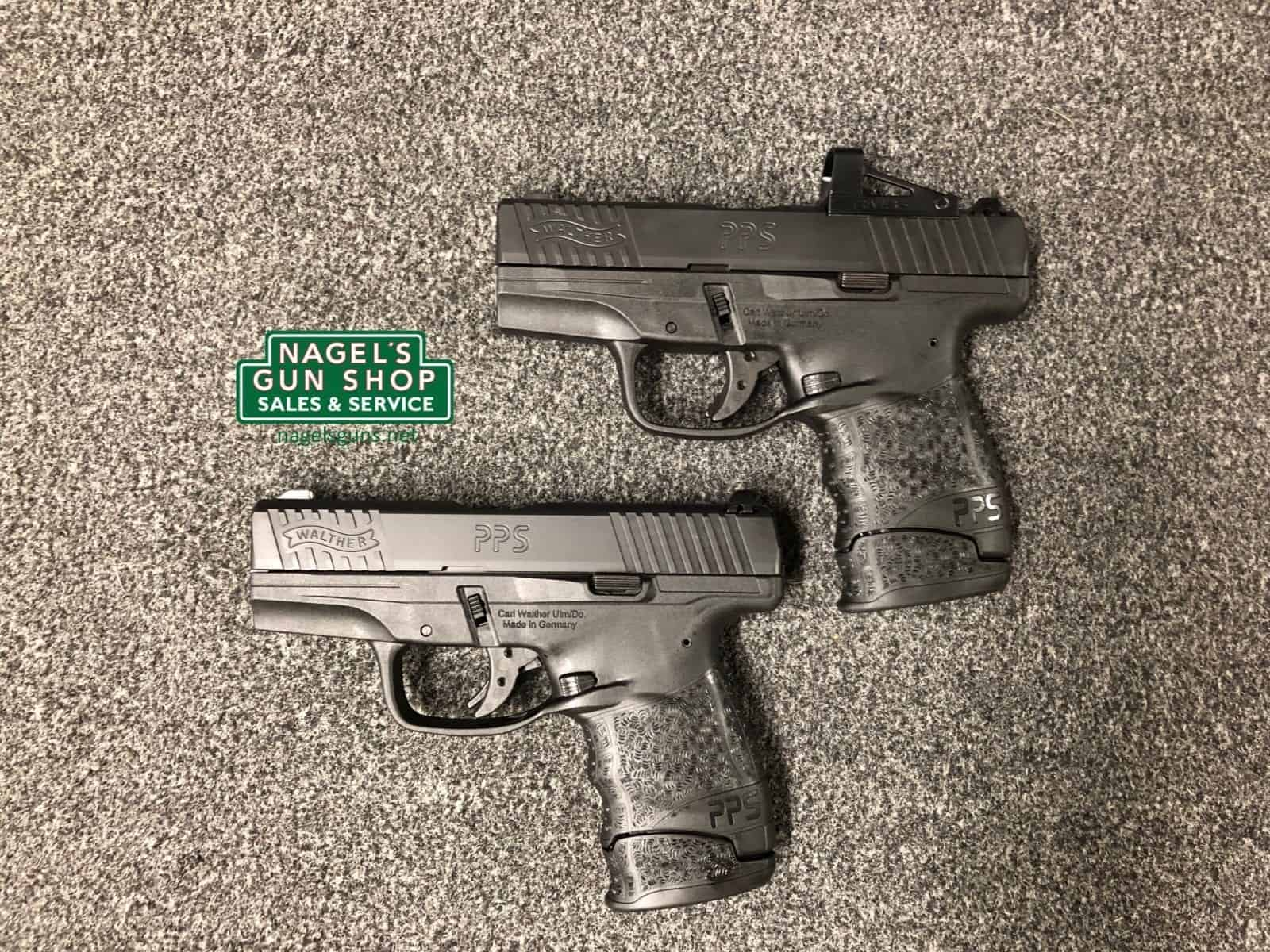 walther pps m2 with shield red dot at nagels