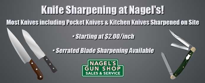 knive sharpening at nagels