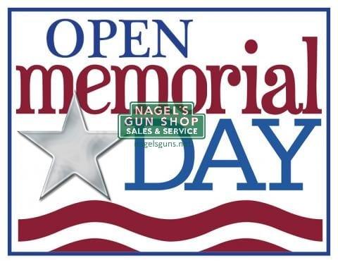 nagels is open memorial day