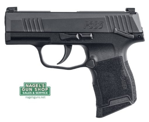sig sauer p365 pistol with manual safety